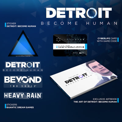 Detroit: Become Human - PC retail box with Epic Game Store key