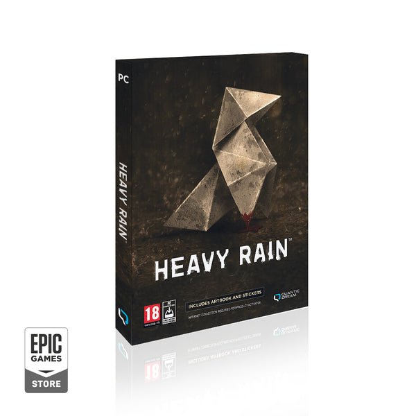 HEAVY RAIN - PC retail version physique avec une clef Epic Game Store