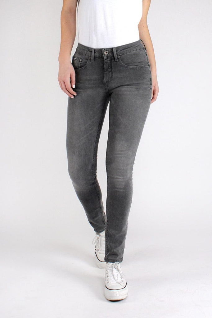 Carey Skinny High Rebel Grey | light Grey - Kuyichi Pure Goods | Organic Style Conscious Denim | Official Website