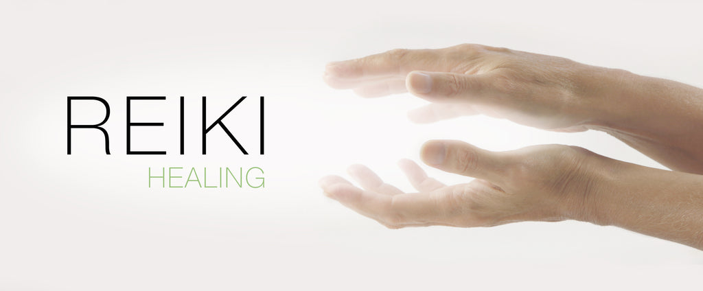 Reiki Healing by Etheric Body™. A photo of hands giving off energy.