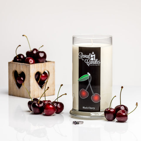 Black Cherry Ring Candle