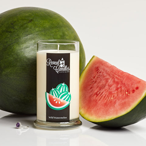 Wild Watermelon Ring Candle