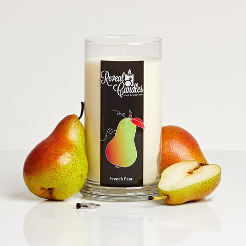 French Pear Ring Candle