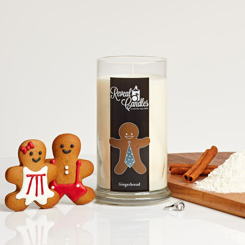 Gingerbread Ring Candle