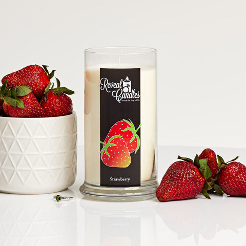 Strawberry Ring Candle