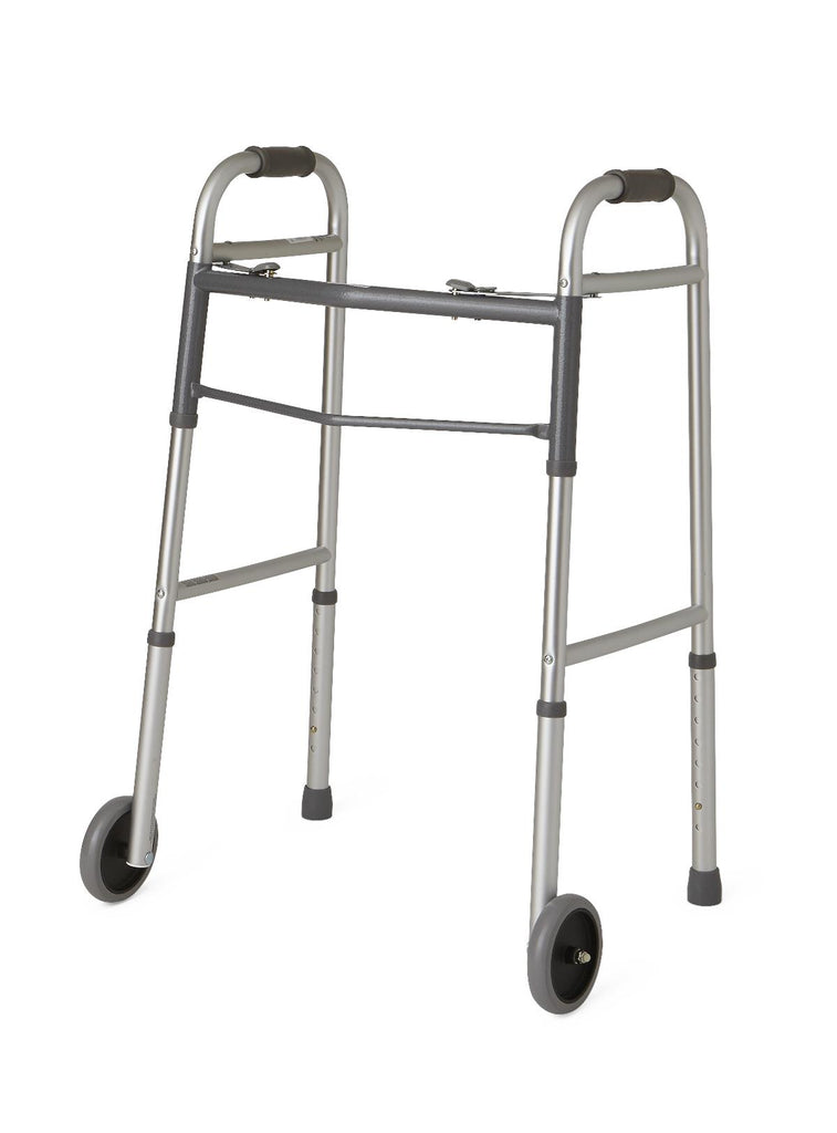 Guardian Folding Walker with Wheels