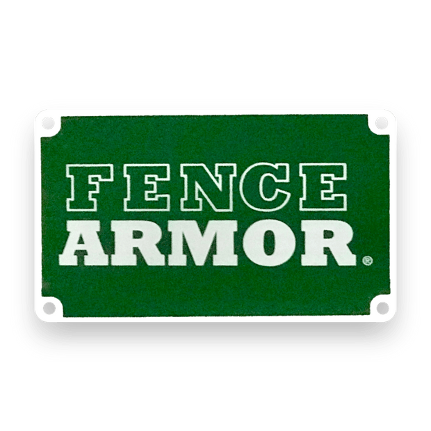 Fence Armor - Name Plate - Fence Armor