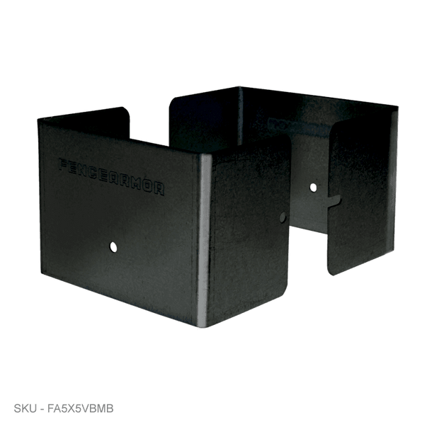 "Full Protection Post Protectors - 3"" Tall - Fence Armor"