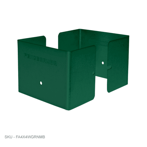 "Full Protection Post Protectors & Mailbox Post Protectors - 3"" Tall - Fence Armor"
