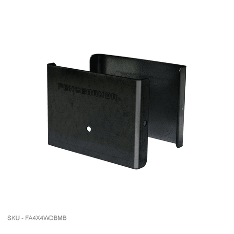"Post Guards Demi Full Post Protection - 3.50"" x 0.50"" - Fence Armor"