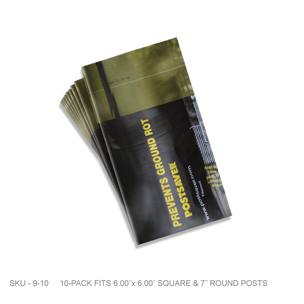 Postsaver Sleeves - 10 Pack - Fence Armor