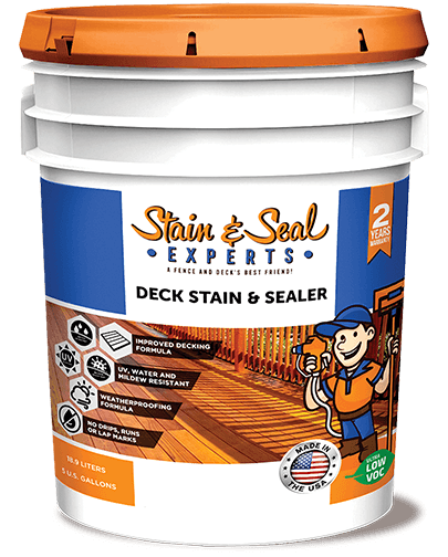 Stain & Seal Experts Deck Stain - Fence Armor