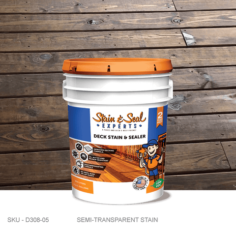 Stain & Seal Experts Deck Stain - Semi-Transparent - Fence Armor