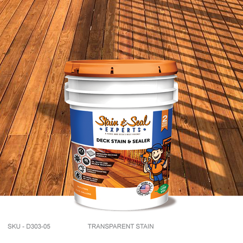 Stain & Seal Experts Deck Stain - Transparent - Fence Armor