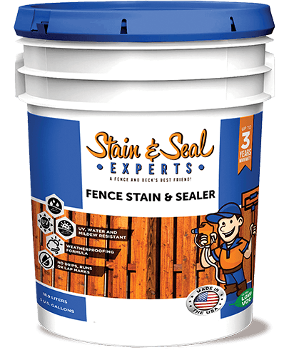 Stain & Seal Experts Fence Stain - Fence Armor