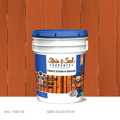 Stain & Seal Experts Fence Stain - Semi-Solid - Fence Armor
