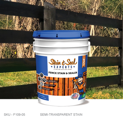 Stain & Seal Experts Fence Stain - Semi-Transparent - Fence Armor