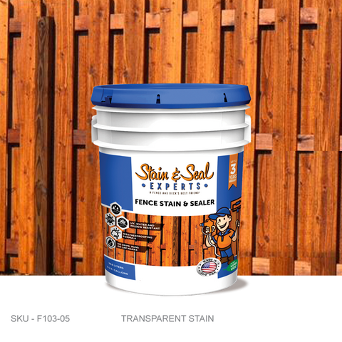 Stain & Seal Experts Fence Stain - Transparent - Fence Armor