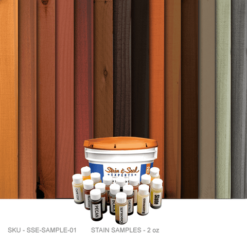 Stain & Seal - Samples - Accessories - Fence Armor