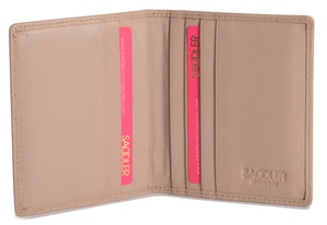 LEXI Bi-fold 6 Slot Credit Card Holder SADDL-2030 - SADDLER ACCESSORIES