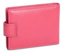 Load image into Gallery viewer, ROBYN Womens Real Leather Credit Card Holder with Tab - SADDLER ACCESSORIES