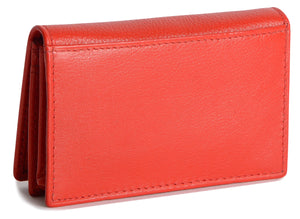 JESSICA Womens Real Leather Slim Credit Card Holder | Minimalist | Gift Boxed SADDL-2034 - SADDLER ACCESSORIES