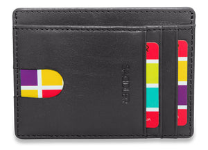 STELLA Womens Soft Leather Credit Card ID Holder | Slim Minimalist | RFID Protected | Designer Credit Card Wallet for Ladies | Gift Boxed - SADDLER ACCESSORIES