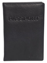 Load image into Gallery viewer, HARPER Womens Luxurious Leather Passport Holder | Travel Wallets | Gift Boxed SADDL-2037 - SADDLER ACCESSORIES