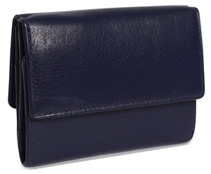 SOPHIE Womens Luxurious Leather Mini Purse Wallet | Designer Purse | Gift Boxed SADDL-2043 - SADDLER ACCESSORIES