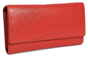 GRACE Womens Leather Multi Section Credit Card Clutch Purse Wallet| Gift Boxed SADDL-2044 - SADDLER ACCESSORIES