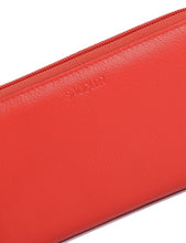 Load image into Gallery viewer, LOTTIE Womens Luxurious Leather Zip Around Clutch Long Wallet Purse| Gift Boxed SADDL-2045 - SADDLER ACCESSORIES