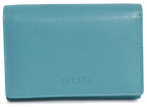 CHLOE Womens Genuine Leather Wallet Zipper Purse Coin Pocket | Credit Card Slot SADDL-2054 - SADDLER ACCESSORIES