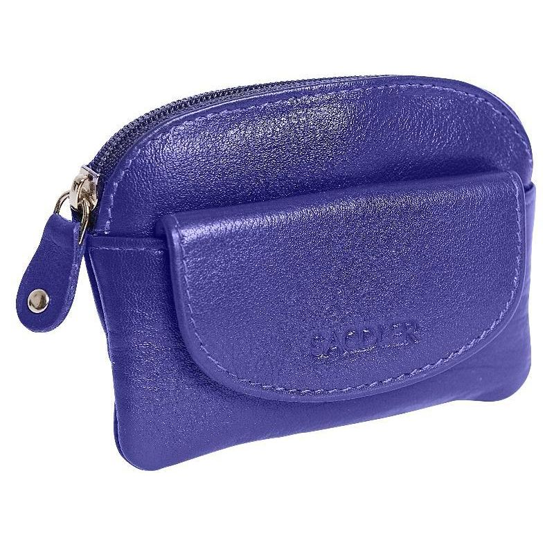 MOLLY Womens Real Leather Zip Top Coin Purse | Ladies Change Pouch|Gift Boxed SADDL-2058 - SADDLER ACCESSORIES