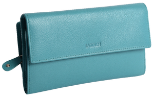 ELLA SADDLER Womens Large Leather Credit Card Wallet | Ladies Clutch Purse|Gift Boxed SADDL-2147 - SADDLER ACCESSORIES