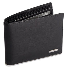 Load image into Gallery viewer, SEBASTIAN Mens Genuine Leather 2 Section 12 Credit Card Billfold Wallet with Large ID Window - SADDLER ACCESSORIES