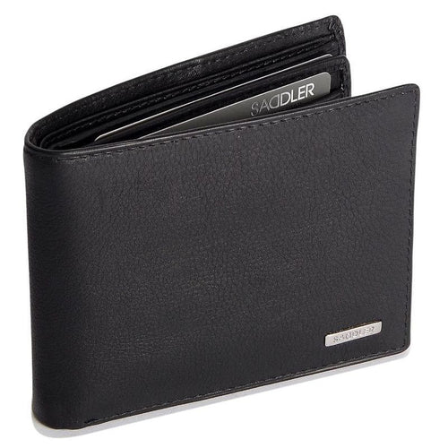 SEBASTIAN Mens Leather 12 Credit Card Billfold Wallet - SADDLER ACCESSORIES