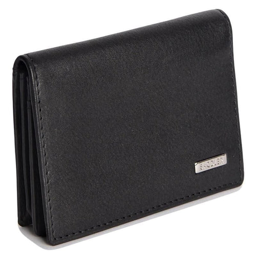 SAMUEL Mens Leather Slim Credit Card Case - SADDLER ACCESSORIES