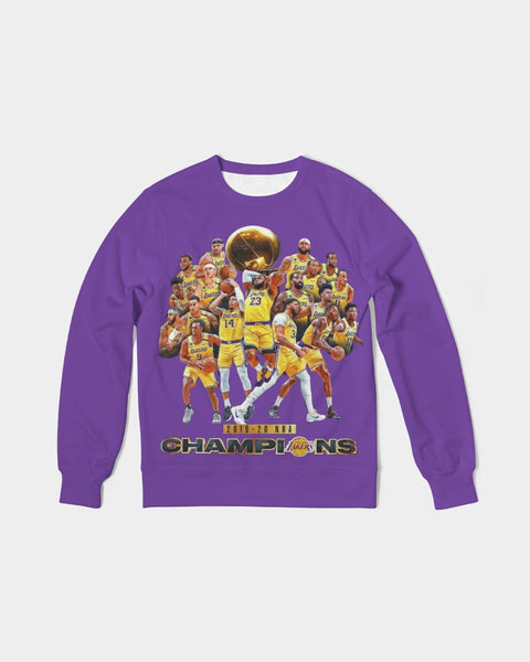 LAL NBA Champion Classic French Terry Crewneck