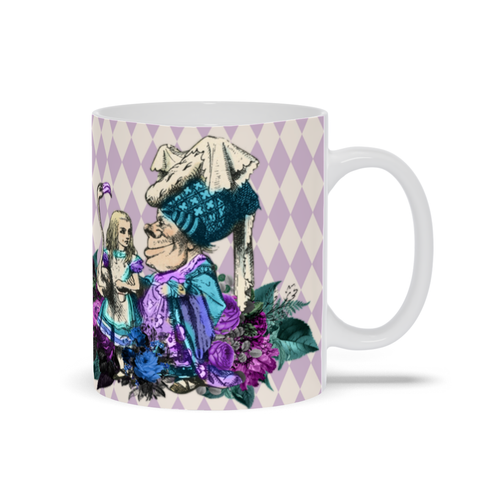 Alice and the Duchess Mugs