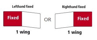 Left or Right hand fixed diagram