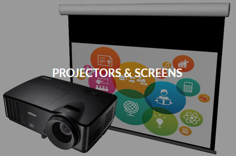 Projectors & Screens
