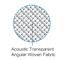 Sapphire Woven Acoustic Transparent Fixed Frame Projection Screen