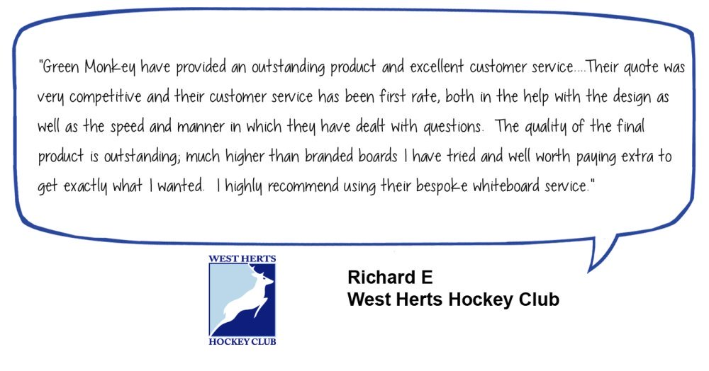 West Herts Hockey Club Testimonial