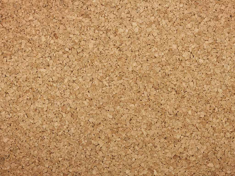 cork material close-up