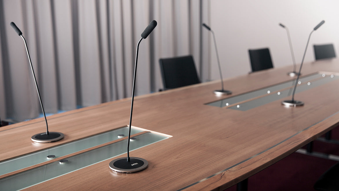 Audio Systems for meeting rooms