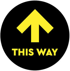 This way sticker