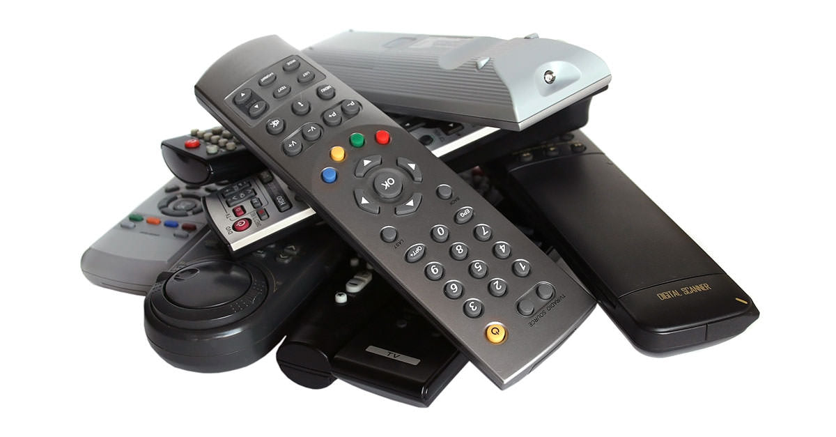 too many remotes?