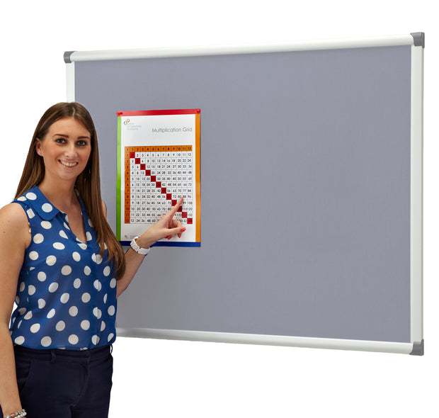Blazemaster Metropolitan Noticeboard (Light Blue)