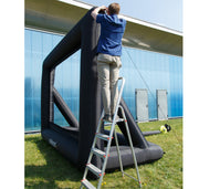 Celexon Inflatable Outdoor Projector Screen - Setup