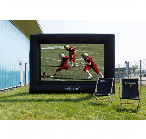 Celexon Inflatable Outdoor Projector Screen - Outside